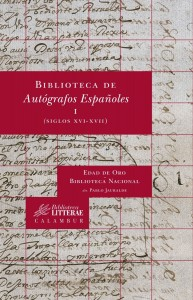 Autógrafos Españoles, I