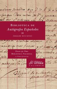 Biblioteca de Autografos Españoles, II